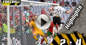Highlights Euro Cup โปรตุเกส 2 : 4 เยอรมนี 19-06-21